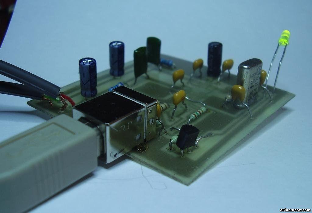 Простой USB ЦАП на PCM2705